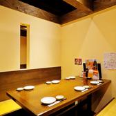 個室・半個室、各種テーブル等完備