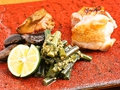 料理メニュー写真【ある日の献立一例】関東でも数か所でしか味わえない会津地鶏