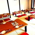 ●【 ~貸切宴会個室席・40名様まで~ 】● 清潔感溢れるお座敷席です!!