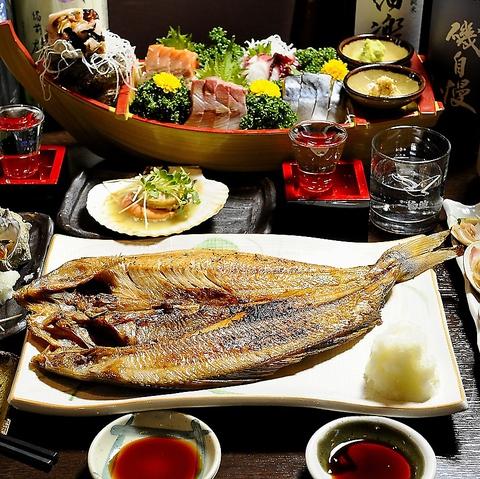 目黒のひもの屋ならではの魚を味わい下さい。ひもの、魚にこだわり有の居酒屋です♪