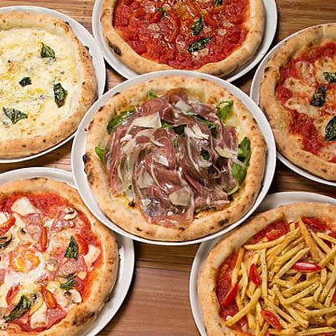 豪華ランチからディナーまで!本格窯で作る絶品ピザを是非お召し上がりください!