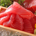 料理メニュー写真たっぷり天然生まぐろの大漁盛り