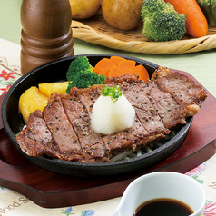 USサーロインステーキ (おろしポン酢・ガーリック風味)