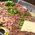 料理メニュー写真牛ステーキ鉄板焼き