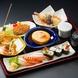 個室で新鮮食材を伝統の職人技で御料理が楽しめます。