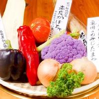 希少な野菜を豊富にご用意!