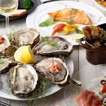 産地直送の生牡蠣など様々な料理を是非お楽しみ下さい♪牡蠣を使った逸品は多数ご用意しております。
