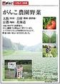 『がんこ農園野菜』大阪(松原)、兵庫(豊岡・淡路島)・京都(亀岡)・北海道。大地の味がする時野菜は、がんこ農園で丹精込めて育てています。土づくりからたっぷり時間をかけることで、野菜の深い味わいを引き出しました。