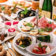 Italian & Wine Bar Viagio ビアージョ 新宿のコース写真