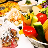 阿波食材にこだわった料理の数々