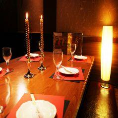 光が織り成す個室空間で宴会★女子会にもぴったりな居酒屋個室をご用意♪完全個室で主役をおもてなし★
