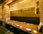 2階・3階の8名様テーブル。 コンパ・飲み会使いに最適の空間♪
