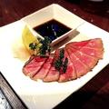 料理メニュー写真牛たたきおろしポン酢