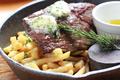 料理メニュー写真Grass fedビーフのステーキ