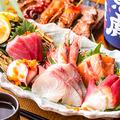 料理メニュー写真鮮魚の御造り5点盛り