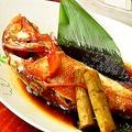 料理メニュー写真煮魚・キンキ鯛