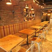 店内の隠れ家。女子会・コンパ利用にも◎オープンキッチンで席もこだわりがあります。デザインがこだわりが有りますので是非一度ご来店ください。