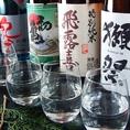 日本酒、焼酎の種類が豊富!※イメージ写真