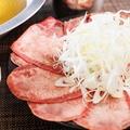 料理メニュー写真牛タンのタンしゃぶ(2 人前より)