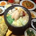 当店のコースは全5品2000円~とリーズナブルな価格で本場の韓国料理がご賞味いただけます!コースの種類も豊富で、ガッツリ焼肉コース全5品3800円、大人気サムギョプサルコース全13品4600円。こちらは嬉しい食べ放題コースでご提供!他にも韓国ならではのもつ鍋コース、参鶏湯鍋コースなど。西梅田で宴会なら是非当店へ!