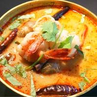 タイの食卓にスープは欠かせない!ピリ辛トムヤムクン♪