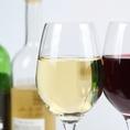 魚貝との相性が良いとされている「国産」ワインのみをご用意。こちらは飲み放題でもお愉しみいただけます。ボトル5200円~