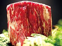 こだわりの鉄板『厚さ30mm』で焼くこだわりのお肉☆