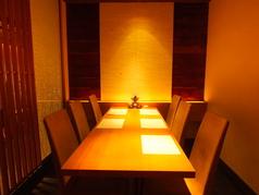 1F/6名様までの個室 テーブル