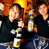 焼酎や日本酒などドリンクの種類も豊富です!