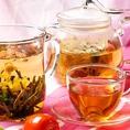 中華料理に合う、各種お茶