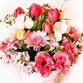 花束代行サービスを行っております。歓送迎会や記念日などに♪詳しくは、店舗までご連絡ください。