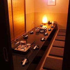 8~10名様用の完全個室部屋あり◎当店の強みのひとつは2名様から200名様まで自在に完全個室でご案内できる広さにあります!もちろん10名様でもまとまって宴会が可能…!