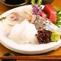料理メニュー写真鳴門漁師さんから仕入れる神経締めした魚料理