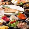 最大3時間飲み放題付プランを各種ご用意しております◎期間限定の豪華な鍋料理や自慢の創作和食が宴会を彩ります。食材からこだわった料理はどれも絶品間違いありません!料理長が一品一品丁寧に作った料理の数々をお愉しみください。各種宴会,女子会,各種宴会に◎