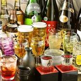 【単品飲み放題】お料理とご一緒にお楽しみください。90分飲み放題、スタンダードが800円・プレミアムが1500円税込み価格でご利用頂けます♪宴会や飲み会はもちろん、二次会などにもぴったりです!