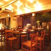 【1階】外の風を感じながらお洒落に夜カフェごはんを愉しんで♪
