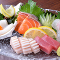 料理メニュー写真旬のお刺身 五種盛り合わせ