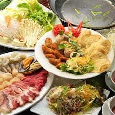 バンコクスパイス Bangkok Spice 新宿のコース写真