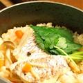料理メニュー写真鯛釜飯