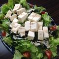 料理メニュー写真島豆腐サラダ