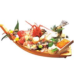 料理メニュー写真大特上船盛り(要予約)