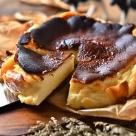 極濃!話題の『バスク風チーズケーキ』