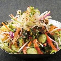 料理メニュー写真国産野菜のチョレギサラダ