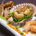 料理メニュー写真自家製クンセイ 盛り合わせ(エビ・タコ・ししゃも・魚)