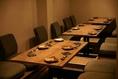 こ知らのテーブル席は宴会でもご利用できます♪