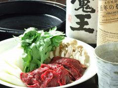 桃鍋 (すき焼)