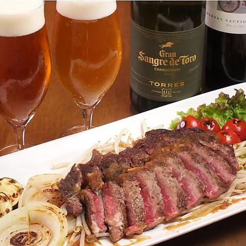 【期間限定】なかなかできなかった2020年歓送迎会!リッカーズのステーキで!!5000円