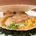料理メニュー写真帆立の醤油バター焼き