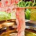 料理メニュー写真黒豚しゃぶ鍋(2人前)