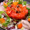 料理メニュー写真タコのカルパッチョ